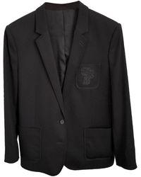 The Kooples Blazer, veste tailleur laine noir