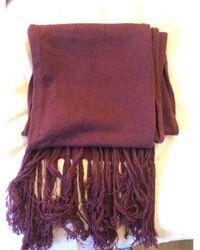 The Kooples - Echarpe laine rouge - Lyst
