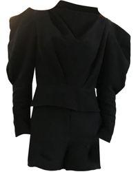 Sandro Short polyester noir
