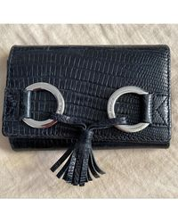 Lancel Porte-monnaie cuir noir