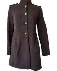 Emilio Pucci Manteau laine noir