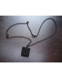 Givenchy Pendentif, collier pendentif résine noir