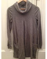 Maje - Robe tunique gris - Lyst