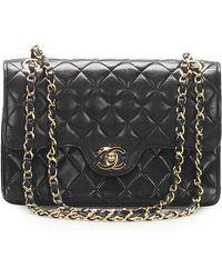 Chanel - Sac en bandoulière en cuir lambskin leather autre - Lyst