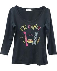 Moschino - Top, tee-shirt coton multicolore - Lyst
