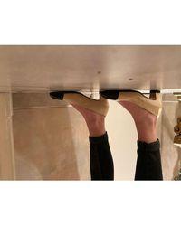 Chanel Escarpins cuir beige - Neutre