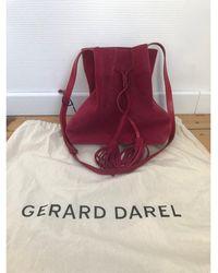 Gerard Darel - Sac en bandoulière en cuir cuir rose - Lyst
