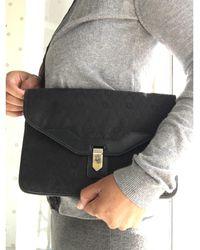 Dior Pochette toile noir