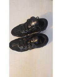 Sandro Baskets cuir noir