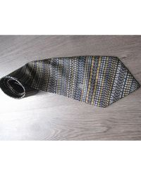 Lanvin - Cravate soie multicolore - Lyst