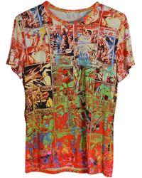 Jean Paul Gaultier Top, tee-shirt coton multicolore