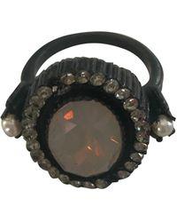 Jean Paul Gaultier Parure bijoux céramique noir