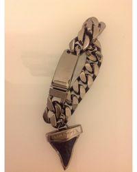 Givenchy Bracelet acier argent - Métallisé