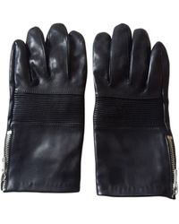 The Kooples - Gants cuir noir - Lyst