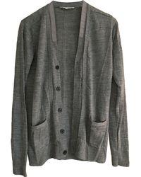 Sandro Gilet, cardigan laine gris