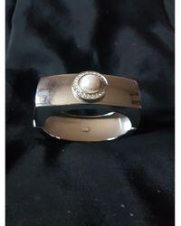 Dior Bracelet métal argent - Métallisé