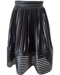 Maje Jupe mi-longue polyester noir