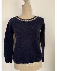 Sandro Pull laine autre - Bleu