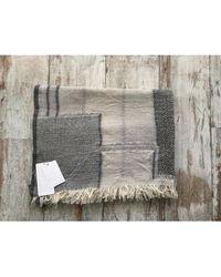 Zadig & Voltaire - Echarpe laine mélangée gris - Lyst