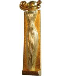 Givenchy Broche bronze doré - Métallisé