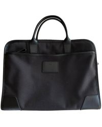 Longchamp Sacoche coton noir