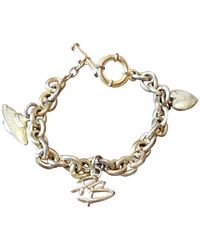 Balmain Bracelet plaqué or doré - Métallisé