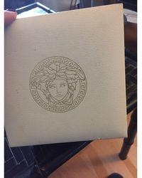 Versace Montre au poignet acier argent - Métallisé