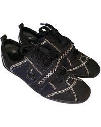 Dior Chaussures de sport toile noir