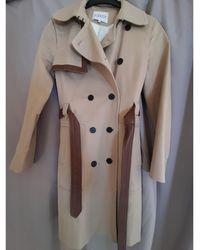 Claudie Pierlot Parka coton beige - Neutre