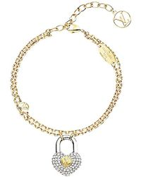 Louis Vuitton Bracelet plaqué or doré - Métallisé
