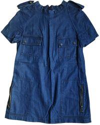 Lanvin Top, tee-shirt denim, jean bleu