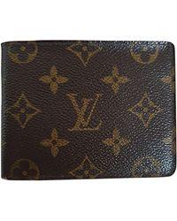 Louis Vuitton Portefeuille cuir autre - Multicolore