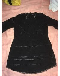 The Kooples - Blouse coton noir - Lyst