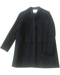 Maje - Veste coton noir - Lyst