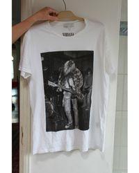 Sandro Tee-shirt coton blanc