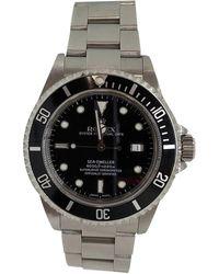 Rolex Montre au poignet acier SEA DWELLER noir