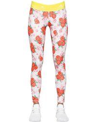 Stella McCartney Pantalon de fitness polyester multicolore