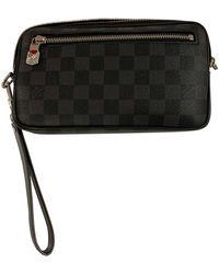 Louis Vuitton Sacoche cuir gris
