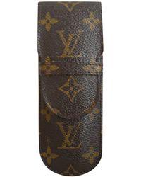 Louis Vuitton Lunettes de soleil marron