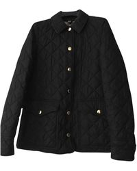 Burberry - Imperméable, trench polyester noir - Lyst