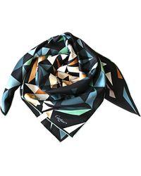 Cartier Foulard soie vert
