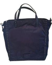 Valentino Cabas nylon bleu