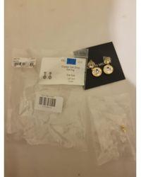Karen Millen - Boucles d'oreilles rose gold doré - Lyst