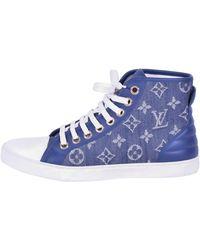 Louis Vuitton Baskets denim, jean autre - Bleu