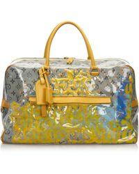 Louis Vuitton Sac XL en cuir coated canvas autre - Jaune