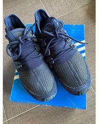 adidas Baskets toile bleu