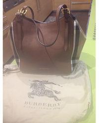 Burberry - Sac en bandoulière en cuir cuir marron - Lyst