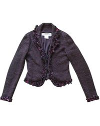 Dior Veste soie violet