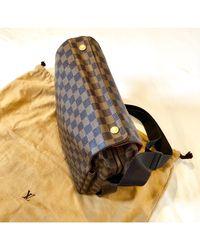 Louis Vuitton Sac en bandoulière toile marron