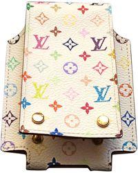 Louis Vuitton Etui iPod toile multicolore